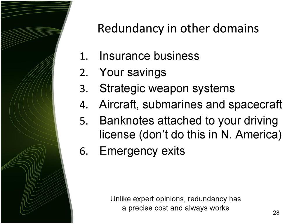 Insurance business Your savings Strategic weapo...