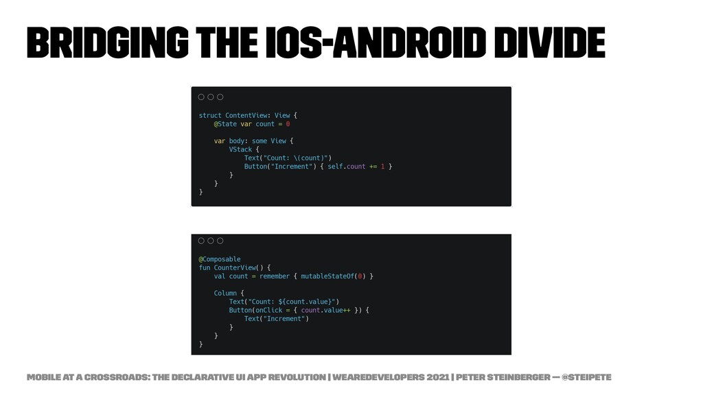 Bridging the iOS-Android Divide Mobile at a Cro...