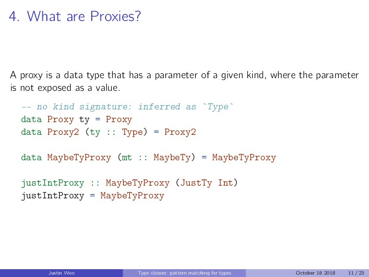 4. What are Proxies? A proxy is a data type tha...