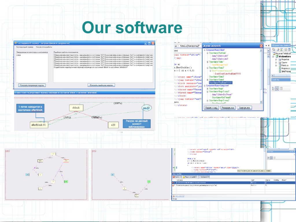 Our software