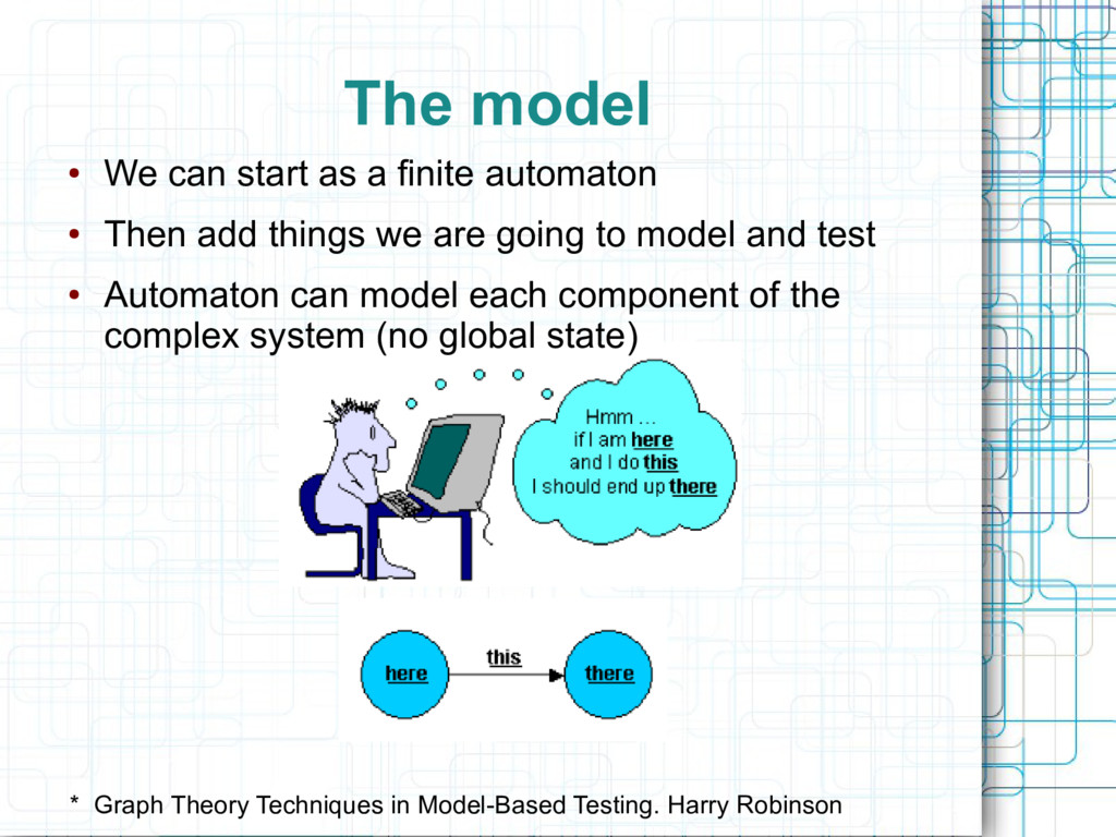 The model * Graph Theory Techniques in Model-Ba...