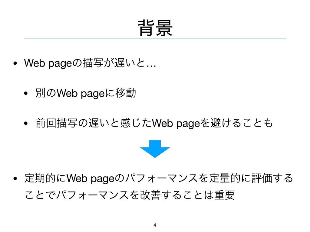 എܠ • Web pageͷඳ͕͍ࣸͱ…  • ผͷWeb pageʹҠಈ  • લճඳࣸͷ...
