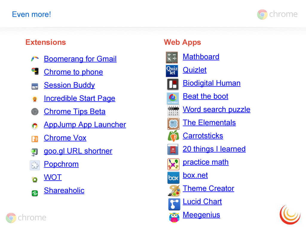 Even more! Boomerang for Gmail Chrome to phone ...
