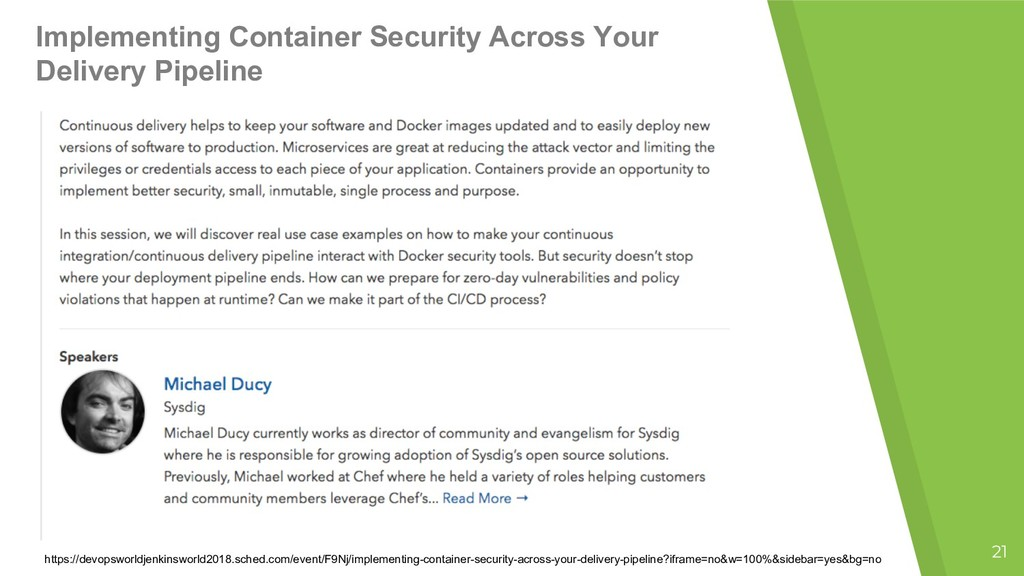 Implementing Container Security Across Your Del...