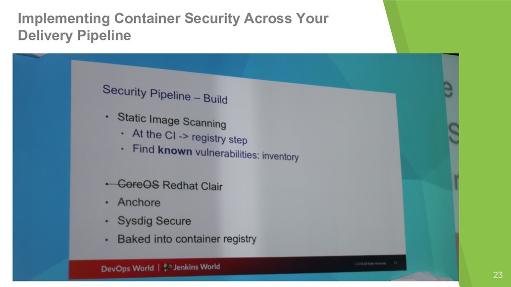 23 Implementing Container Security Across Your ...