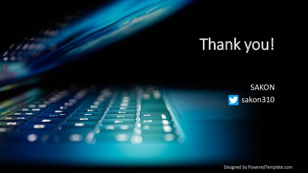 Thank you! SAKON sakon310