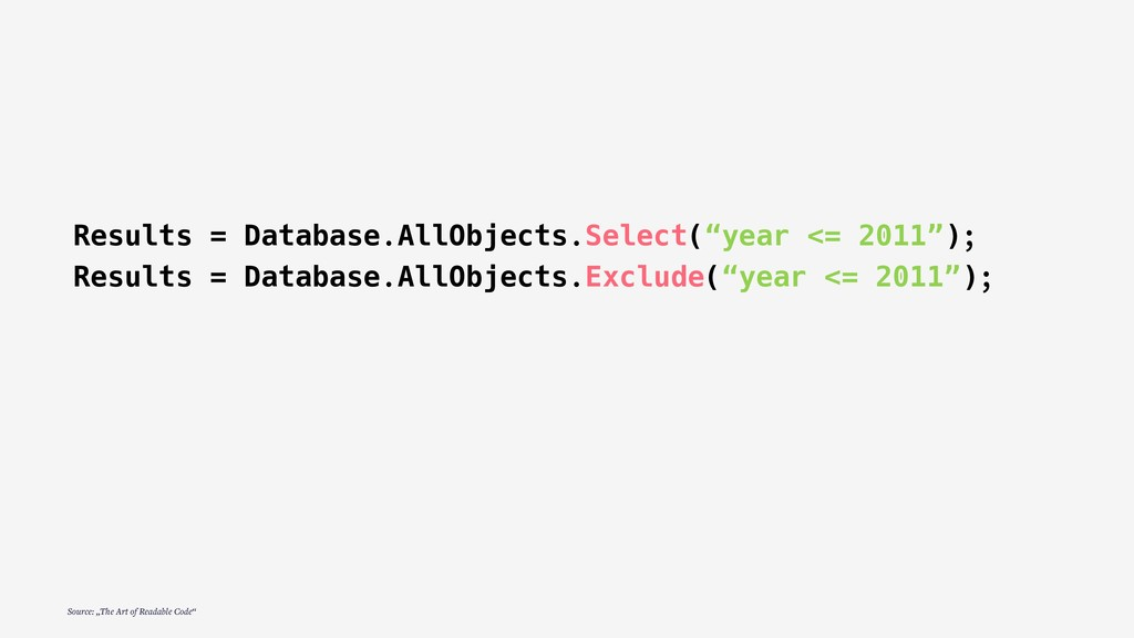 """Results = Database.AllObjects.Select(""""year <= 2..."""