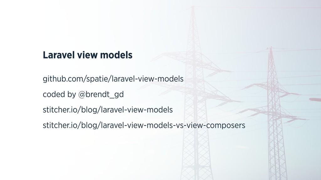 Laravel view models github.com/spatie/laravel-v...