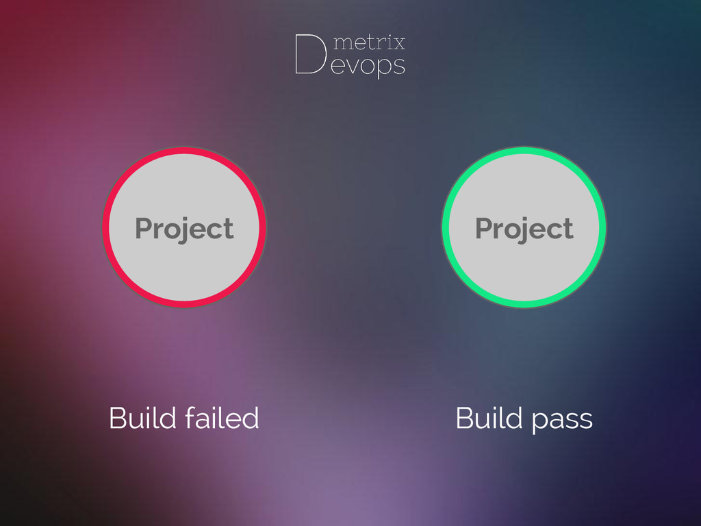 Build failed Build pass Project Project