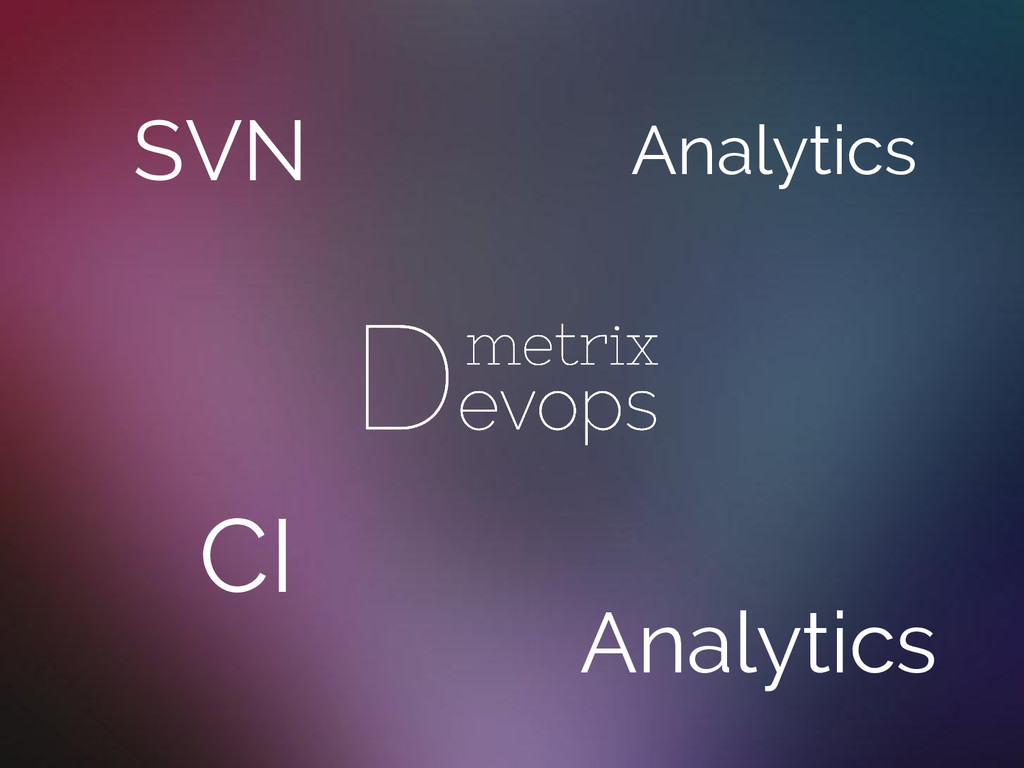SVN CI Analytics Analytics