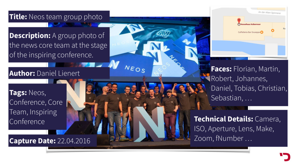 Title: Neos team group photo Description: A gro...