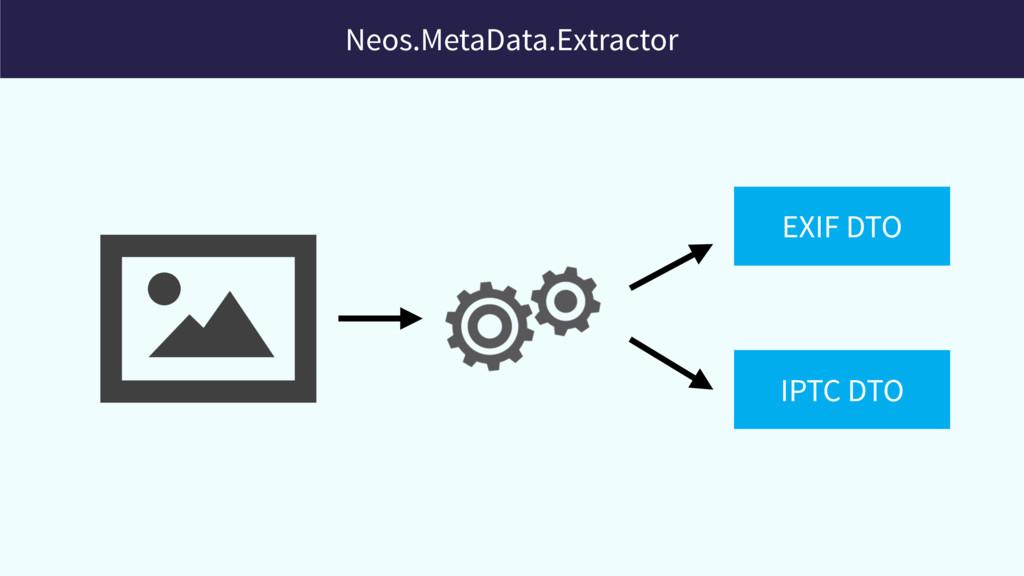 Neos.MetaData.Extractor EXIF DTO IPTC DTO