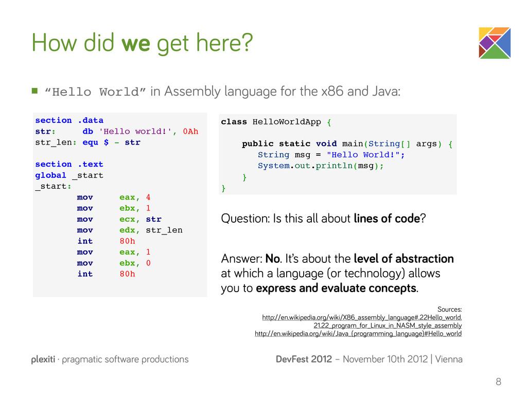 DevFest 2012 – November 10th 2012 | Vienna plex...