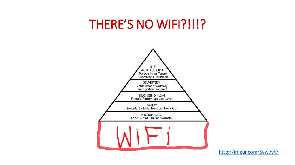 THERE'S NO WIFI?!!!? http://imgur.com/Svw7vt7