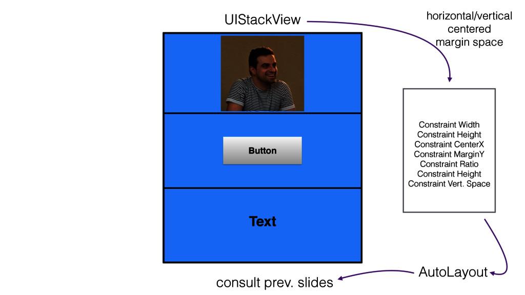 UIStackView Button Constraint Width Constraint ...