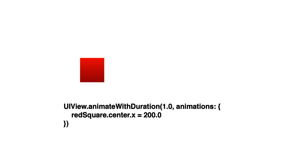 UIView.animateWithDuration(1.0, animations: { r...