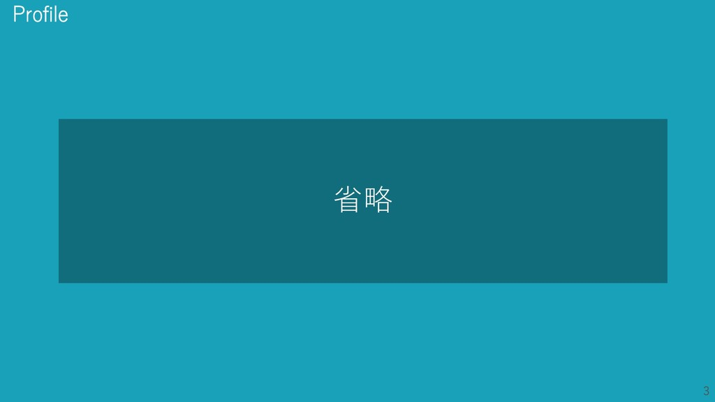 3 3 省略 Profile