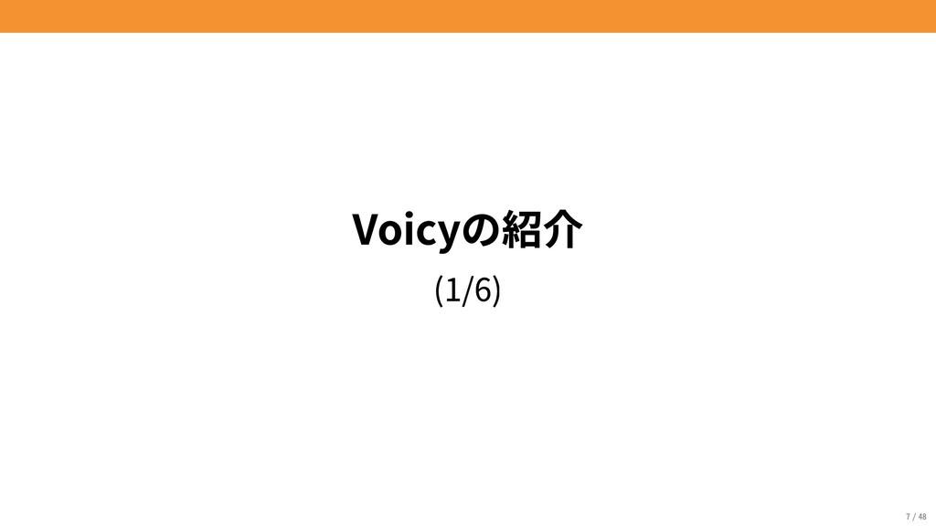 Voicyの紹介 (1/6) 7/48