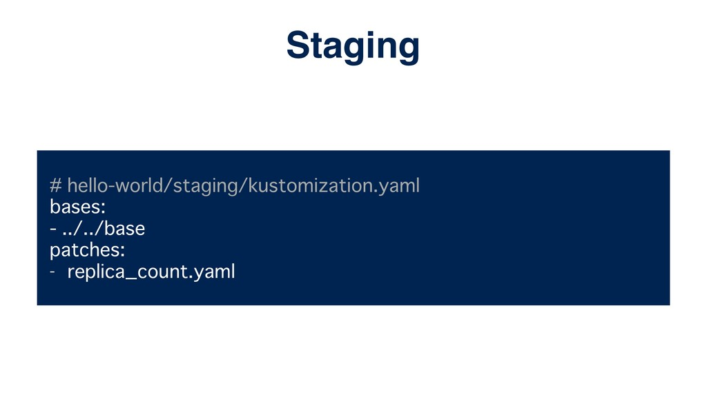 # hello-world/staging/kustomization.yaml bases:...