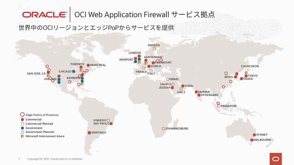 OCI PoP Copyright © 2021, Oracle and/or its aff...