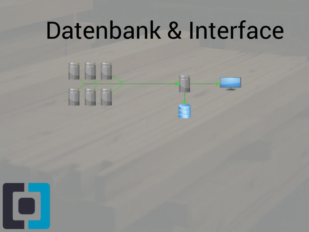 Datenbank & Interface