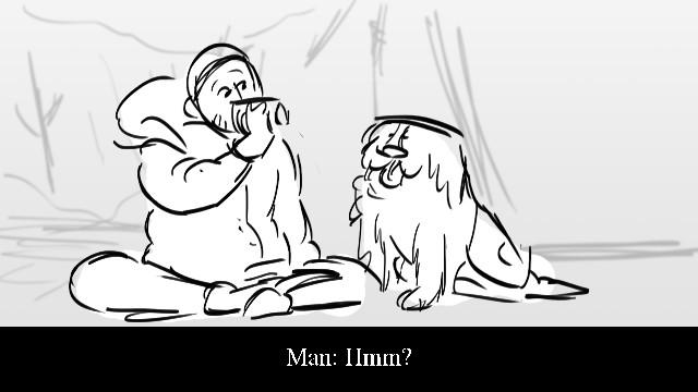 Ma n : H m m ?