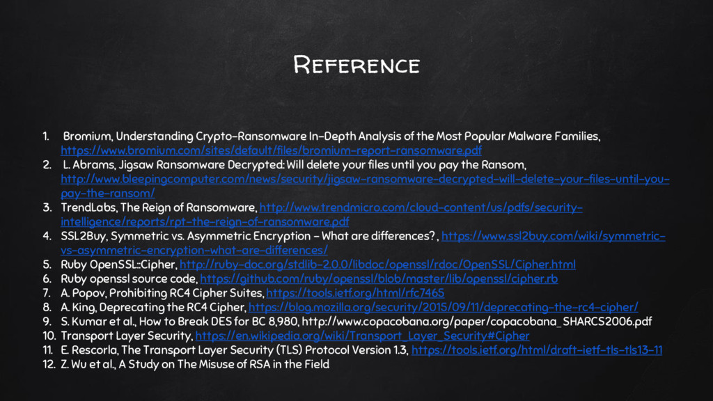 Reference 1. Bromium, Understanding Crypto-Rans...