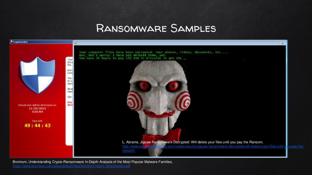 Ransomware Samples Bromium, Understanding Crypt...