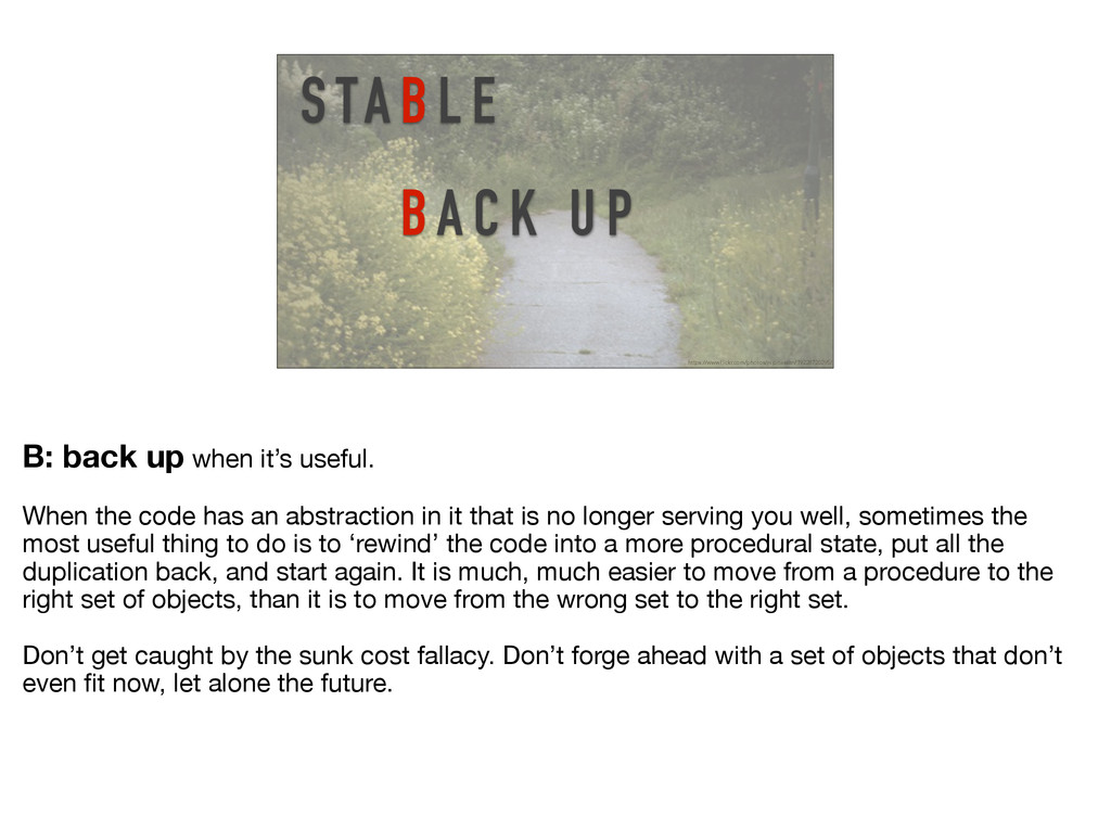 S TA B L E BA C K U P https://www.flickr.com/ph...