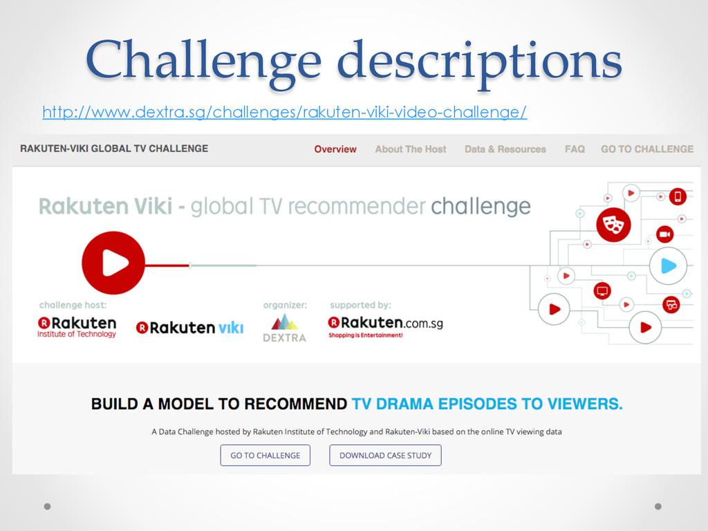 Challenge descriptions http://www.dextra.sg/cha...