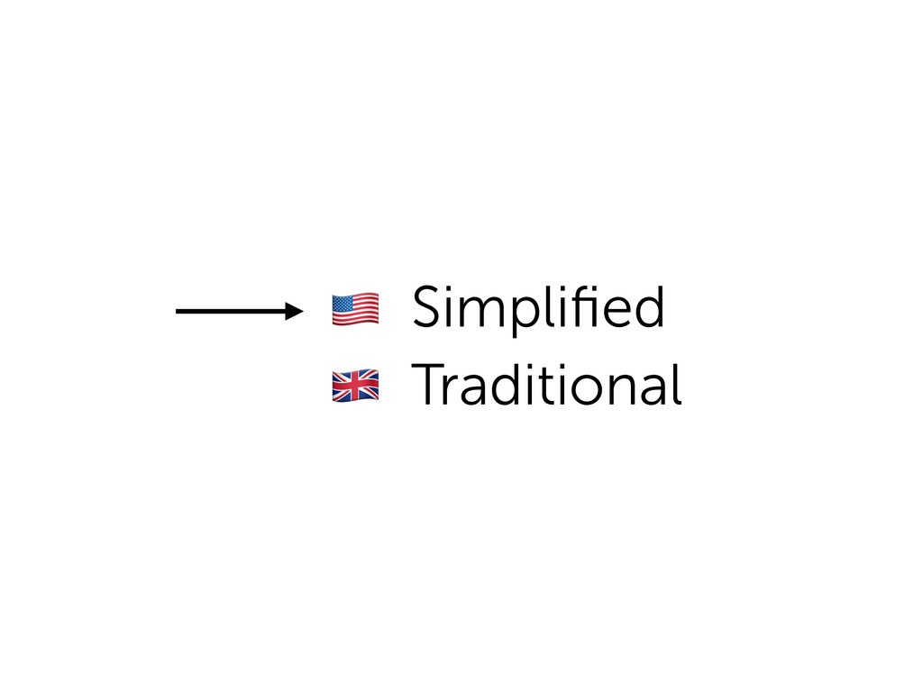! Simplified Traditional ""