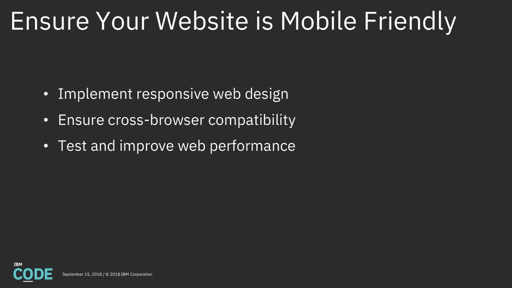 Ensure Your Website is Mobile Friendly Septembe...