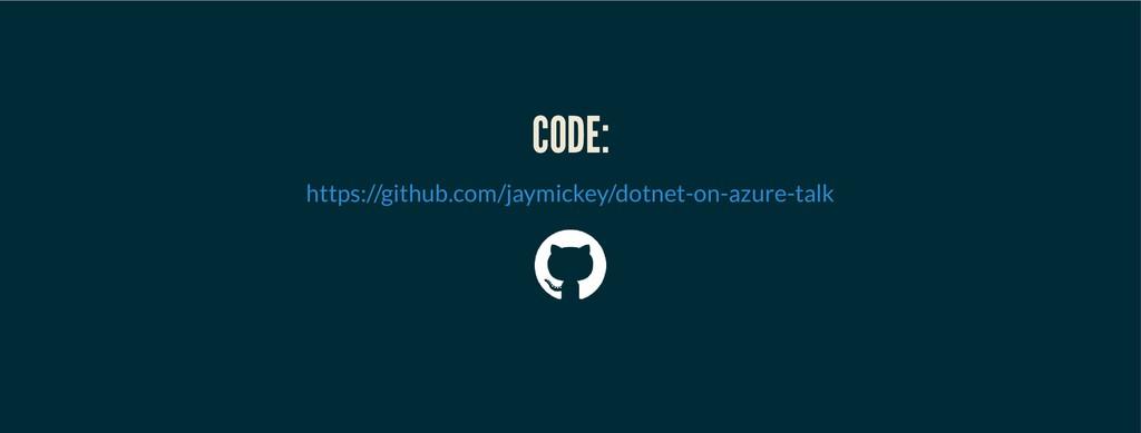 CODE: CODE: https://github.com/jaymickey/dotnet...