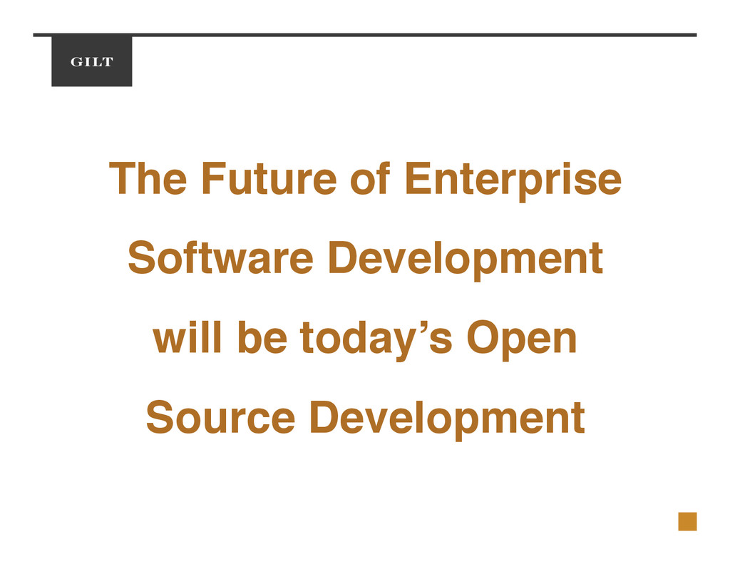 The Future of Enterprise! Software Development ...