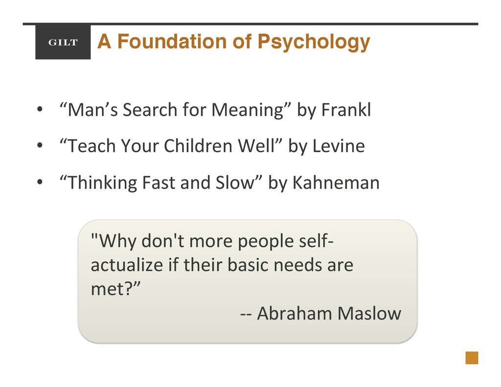 "A Foundation of Psychology! •  ""Man's$Search$fo..."