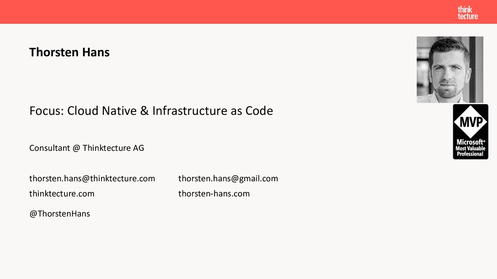Focus: Cloud Native & Infrastructure as Code Co...