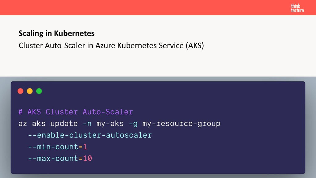 Cluster Auto-Scaler in Azure Kubernetes Service...