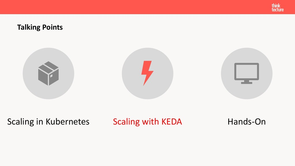 Talking Points Scaling in Kubernetes Scaling wi...