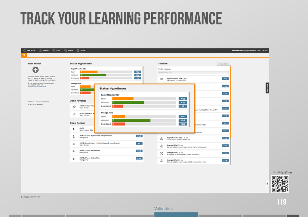 Validation TRACK YOUR LEARNING PERFORMANCE 119 ...