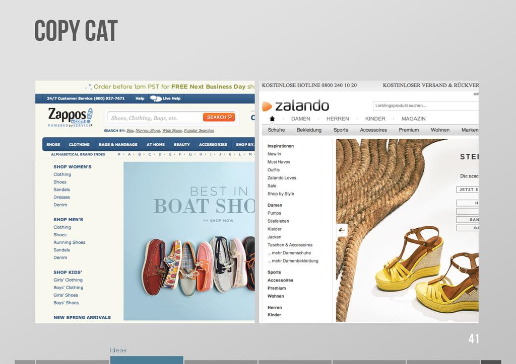Ideas COPY CAT 41