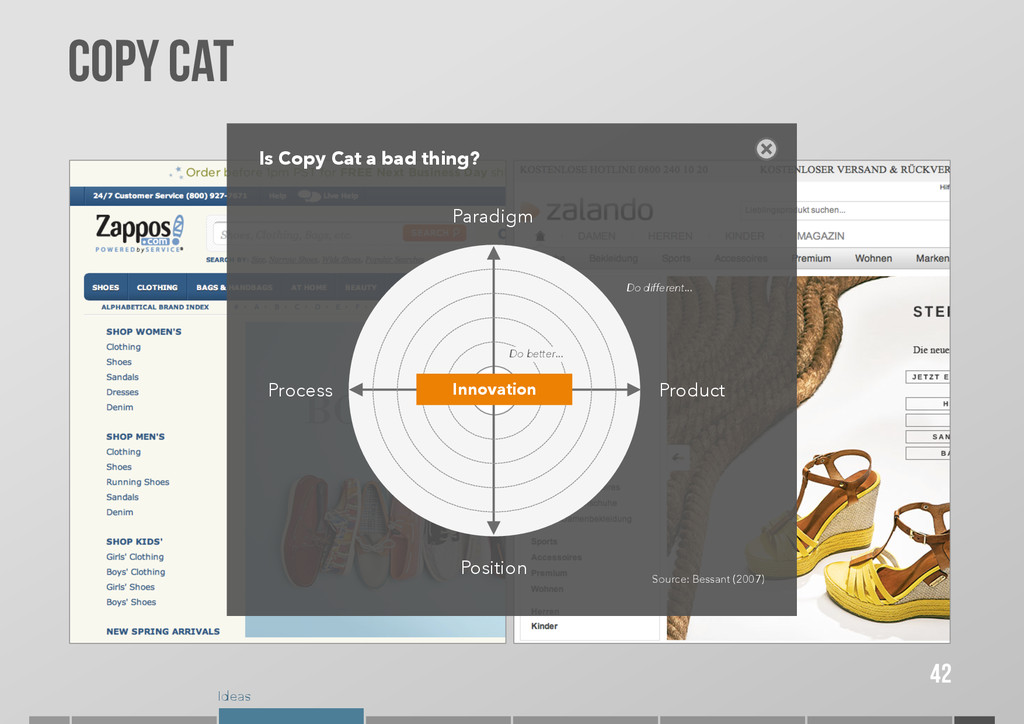 Ideas COPY CAT 42 Is Copy Cat a bad thing? Para...