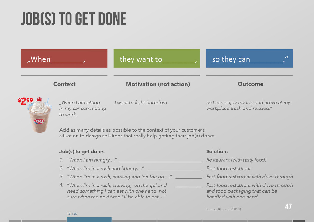 """Ideas JOB(S) TO GET DONE 47 """"When________,  ..."""