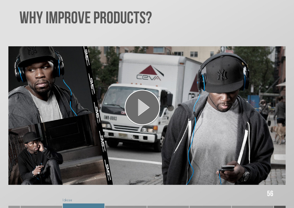 Ideas WHY IMPROVE PRODUCTS? 56