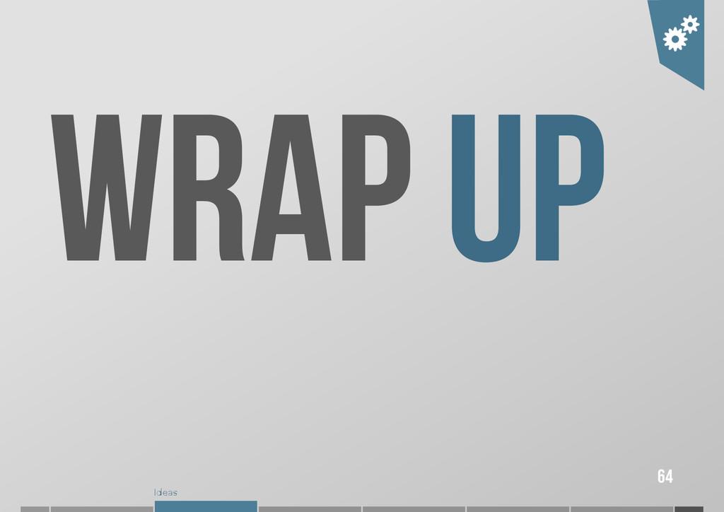 Ideas WRAP UP 64