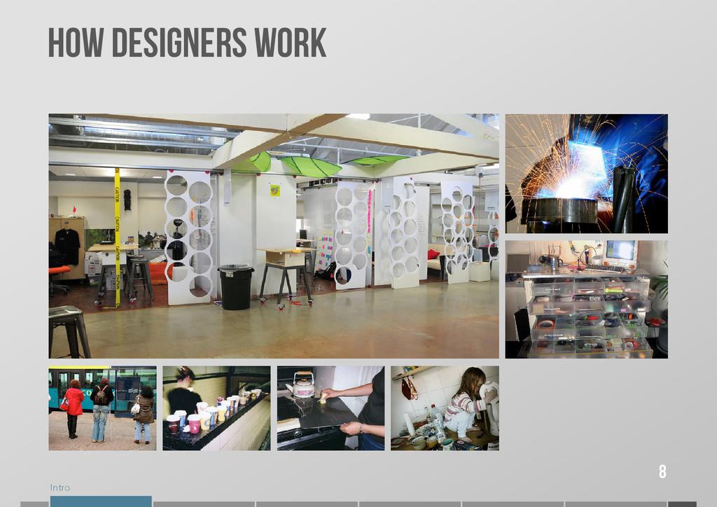 Intro 8 How designers work