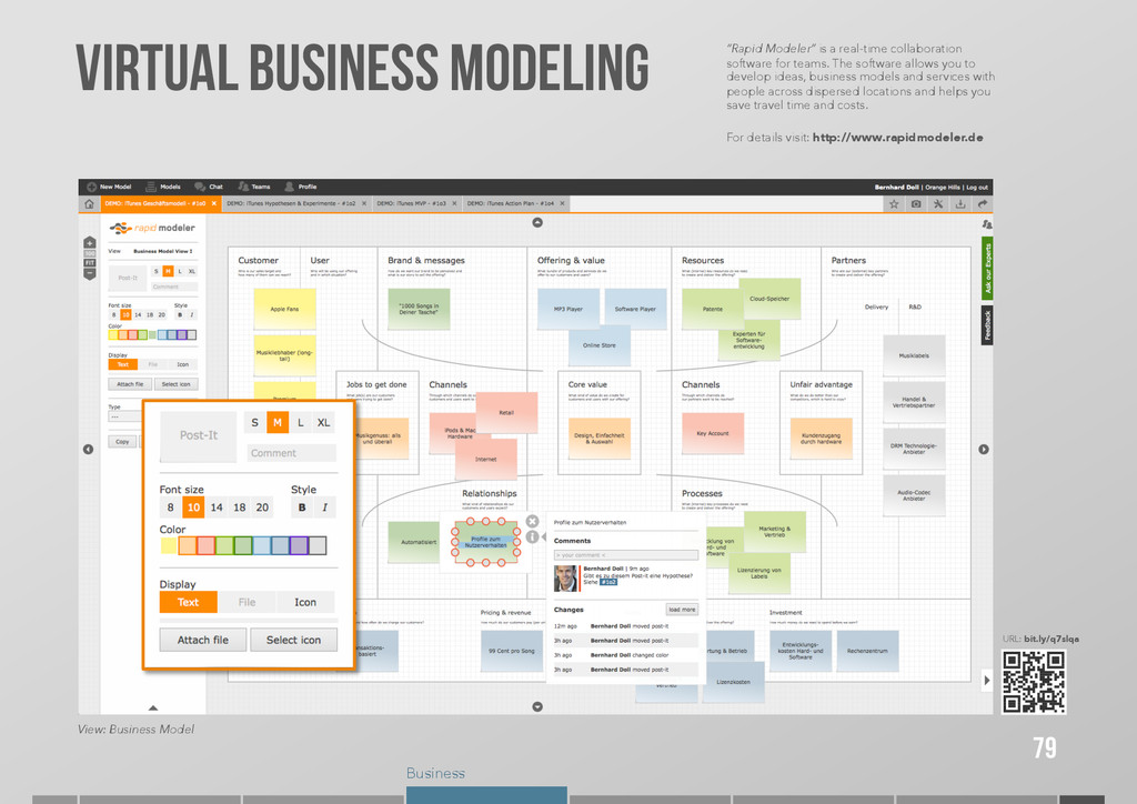 """Business VIRTUAL BUSINESS MODELING 79 """"Rapid Mo..."""