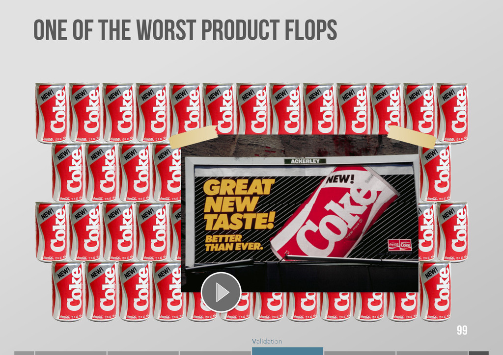 Validation 99 ONE OF THE WORST PRODUCT FLOPS
