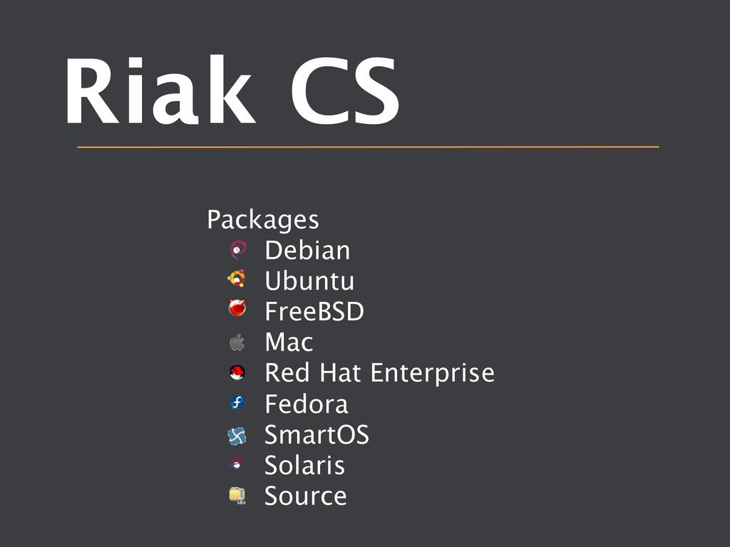 Riak CS  Packages • Debian • Ubuntu • Fr...
