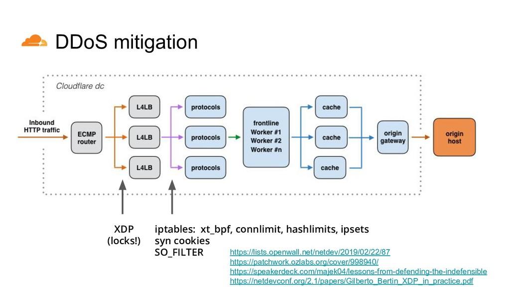 iptables: xt_bpf, connlimit, hashlimits, ipsets...