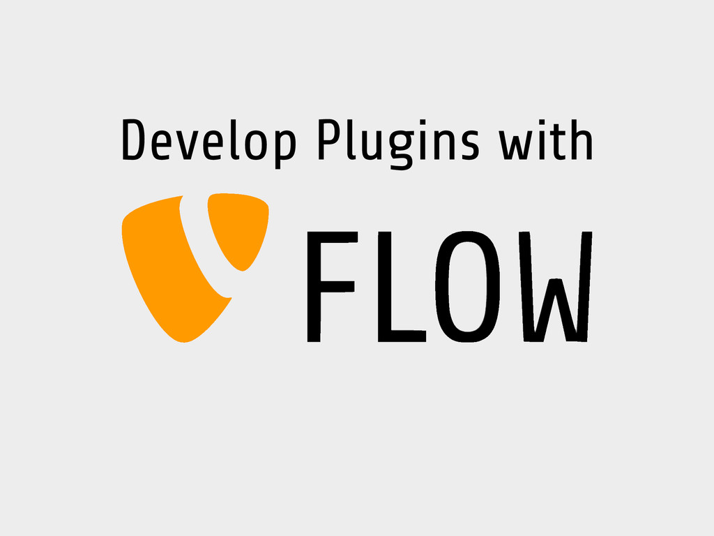 Develop Plugins with